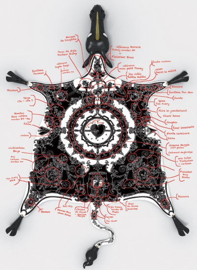 Projet Peau de licorne annoted Nicolas Buffe