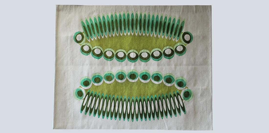 Deux parterres, un reflet, Jane Harris, woven by Patrick Guillot workshop, Aubusson