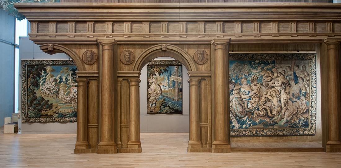 La Nef des Tentures, Cité internationale de la tapisserie, le