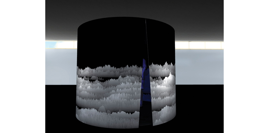 Panoramique polyphonique, Cécile Le Talec, Grand prize 2011, digital model