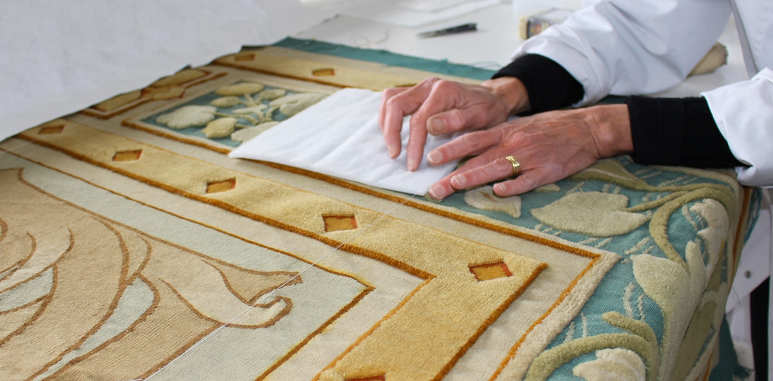 Restoration of the tapestry
