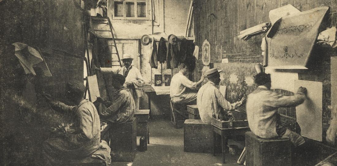 Atelier Tabard - peinture