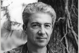 Mario Prassinos photographié en 1960 par E. Quinn