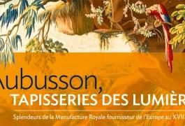 Aubusson, Tapisserie des Lumières, détail de la couverture de l'ouvrage