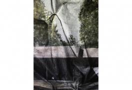 Lucite, Eva Nielsen, model for the tapestry, 2016