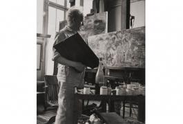 Raoul Dufy dans son atelier