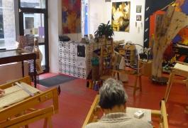 Stages de tapisserie à l'Atelier A2